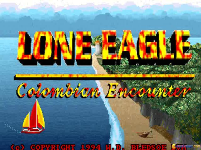 Lone Eagle: Colombian Encounter - title cover