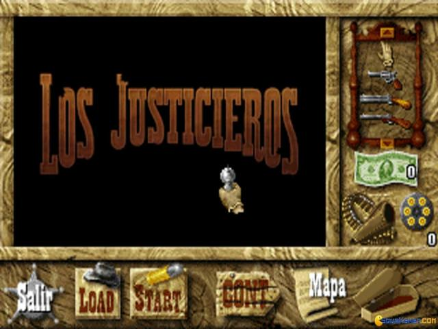 Los Justicieros - game cover