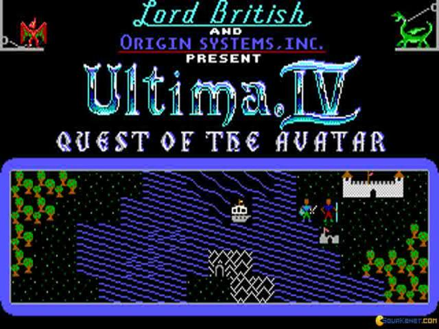 Ultima 4 - title cover