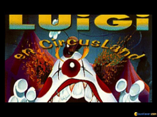 Luigi en Circusland - title cover