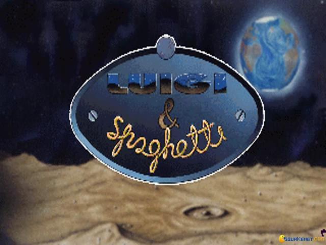 Luigi & Spaghetti - title cover