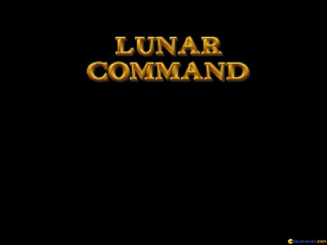 Lunar Command - game cover