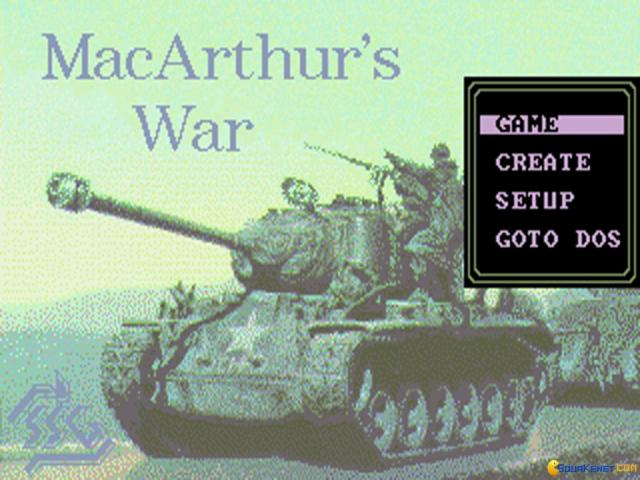 MacArthur's War: Battles for Korea - title cover