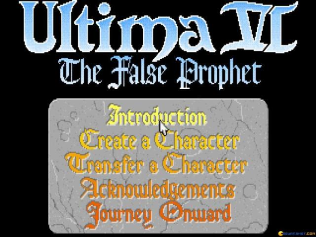 Ultima 6 - game cover