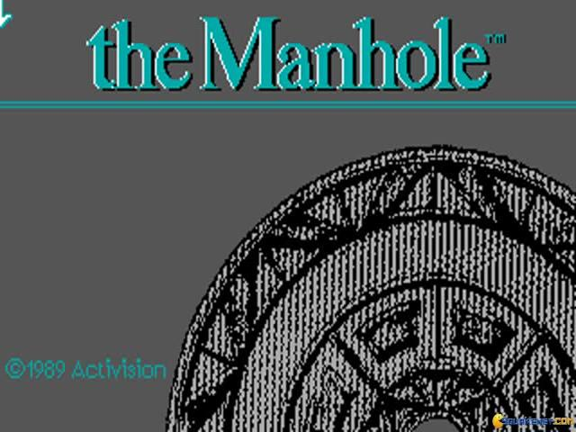 The Manhole - title cover