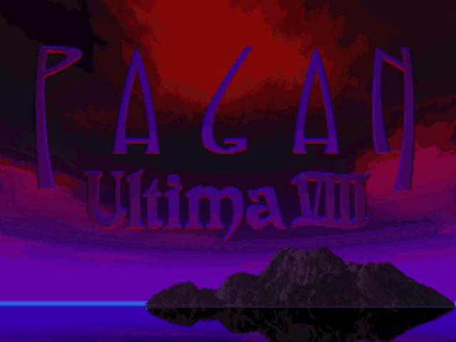 Ultima 8 - title cover