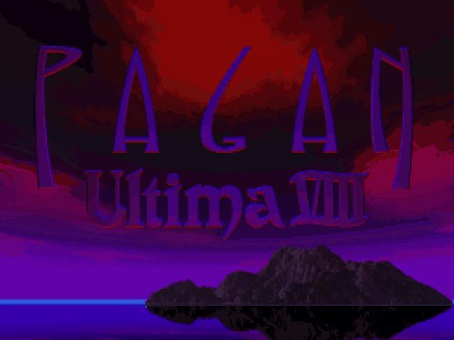 Ultima 8 - title cover