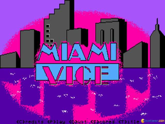 Miami Vice - title cover
