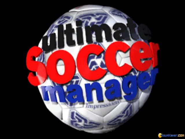 Ultimate Soccer Manager - title cover