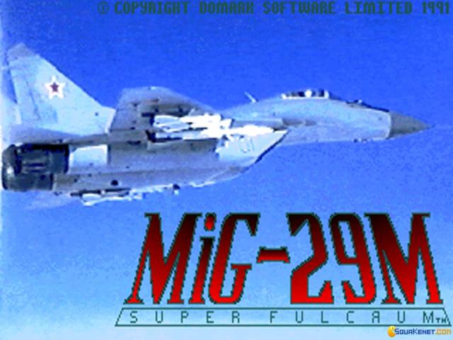 MiG-29M Super Fulcrum - title cover