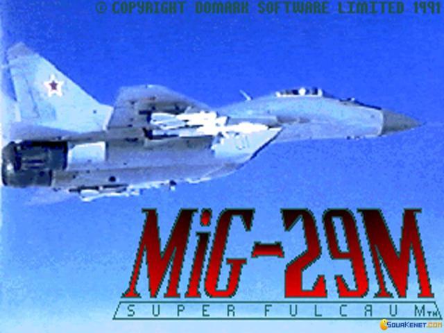 MiG-29M Super Fulcrum - title cover