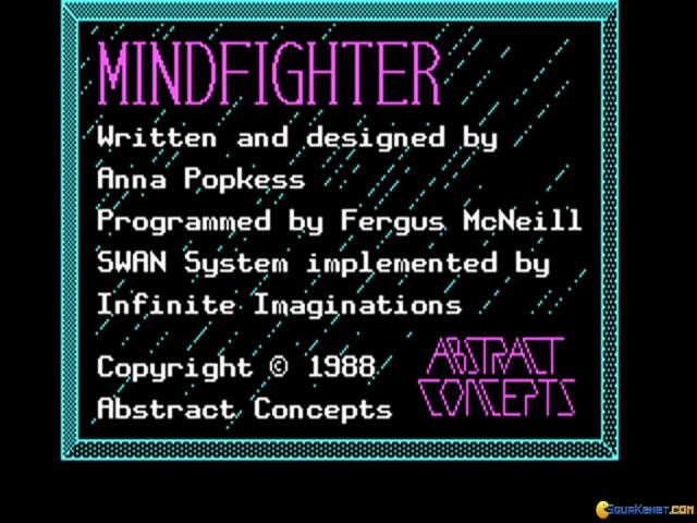 Mindfighter - title cover