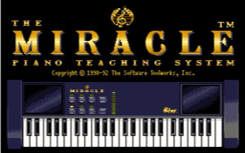 The Miracle Piano Teaching System - title cover