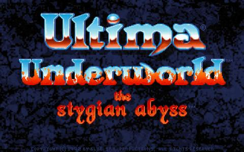 Ultima Underworld - title cover