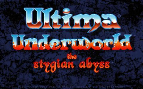 Ultima Underworld - game cover