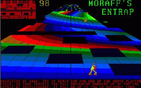 Moraff's Entrap - title cover