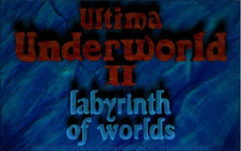 Ultima Underworld 2 - title cover