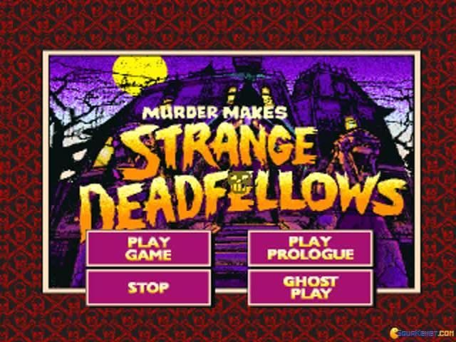 Murder Makes Strange Deadfellows - title cover