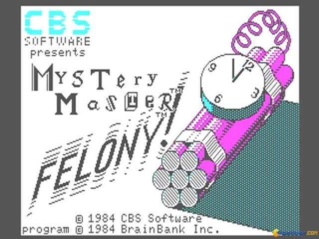 Mystery Master: Felony! - title cover