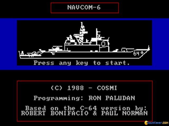 Navcom-6 - title cover