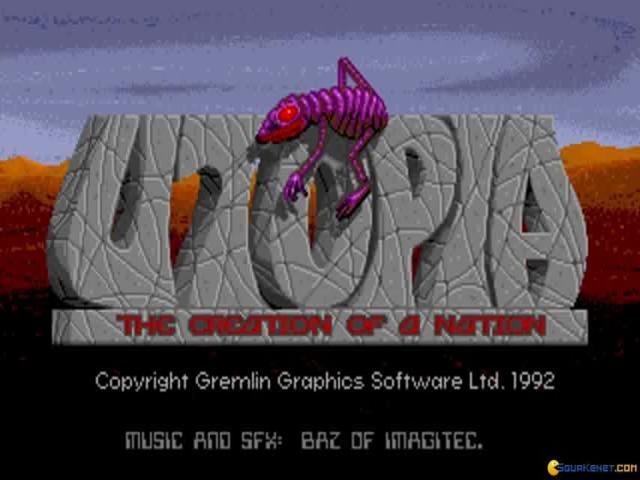 Utopia - game cover
