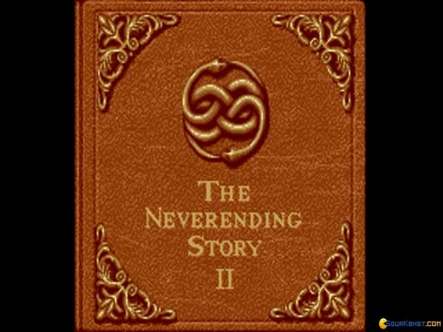 The Neverending Story 2 - title cover