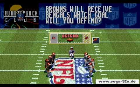 NFL Quarterback Club 96 - title cover