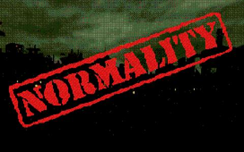 Normality - game cover