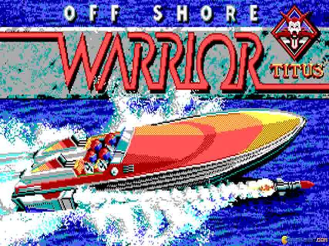 Off Shore Warrior - title cover