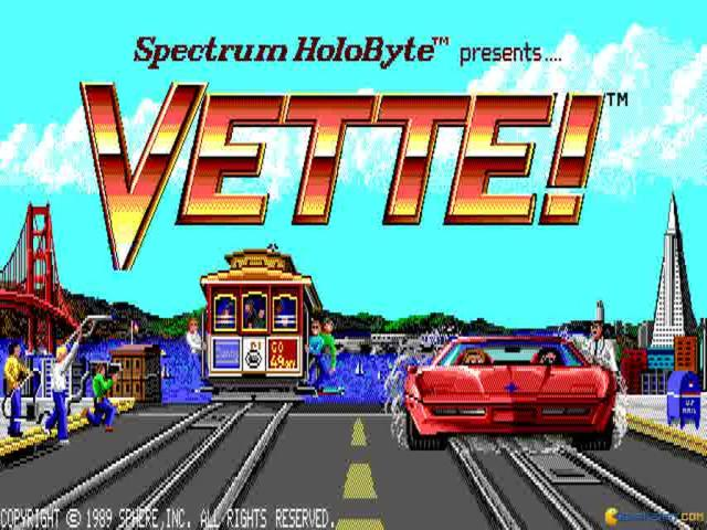 Vette! - game cover