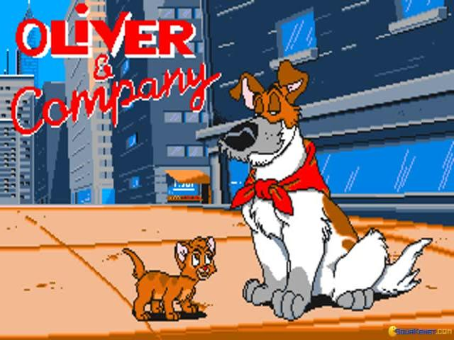 Oliver & Company - game cover