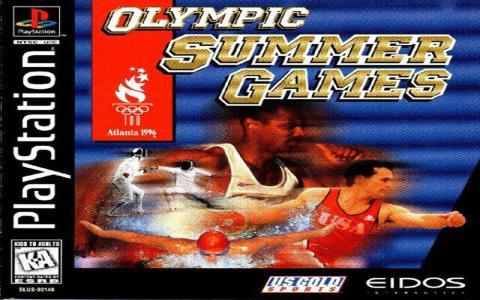 Olympic Games: Atlanta 1996 - game cover