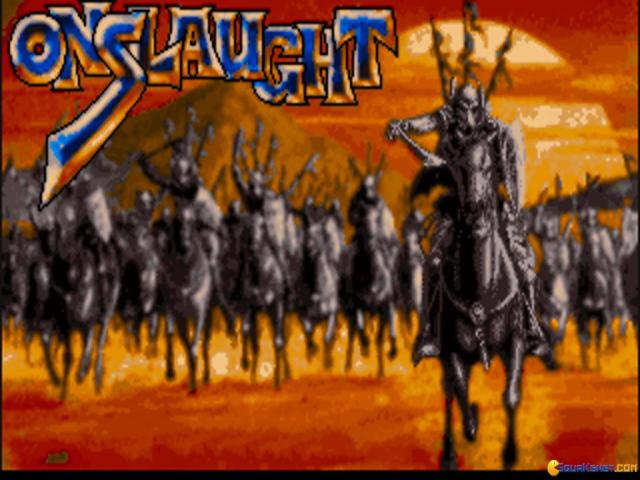 Onslaught - title cover
