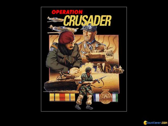 World at War: Operation Crusader - title cover