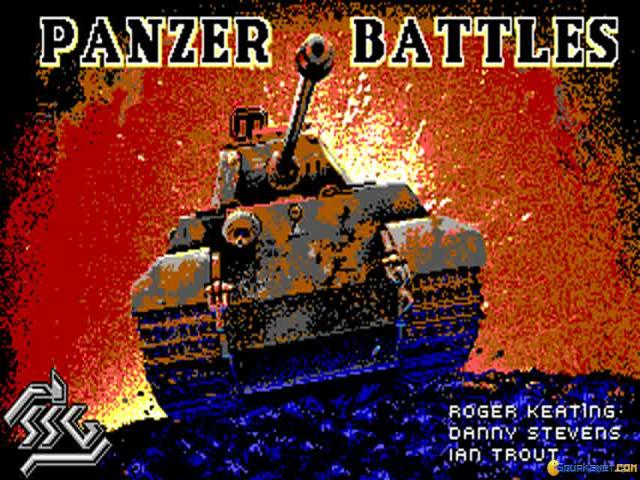 Panzer Battles - game cover