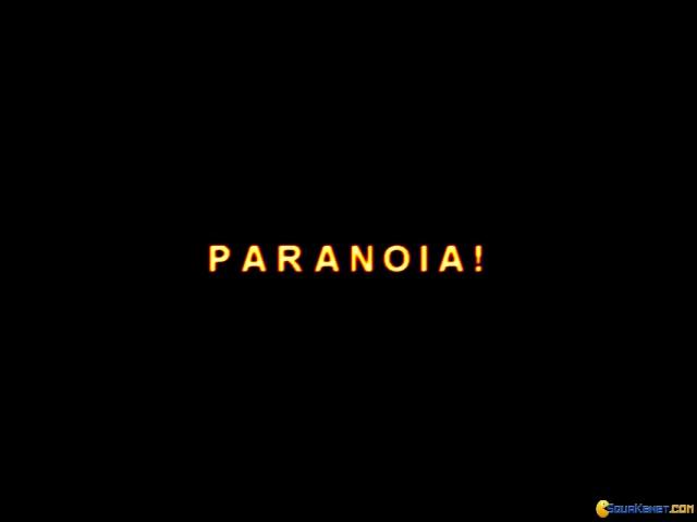 Paranoia - title cover