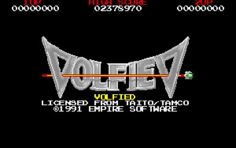 Volfied - game cover