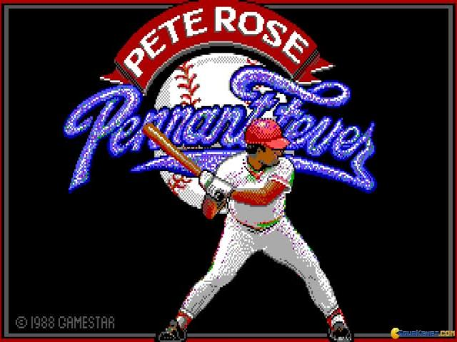 Pete Rose Pennant Fever - game cover
