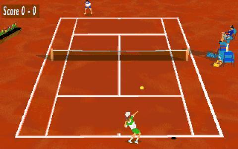 Pete Sampras Tennis 97 - title cover