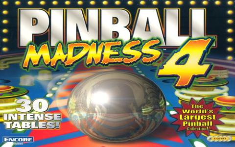 Pinball Madness 4 - game cover