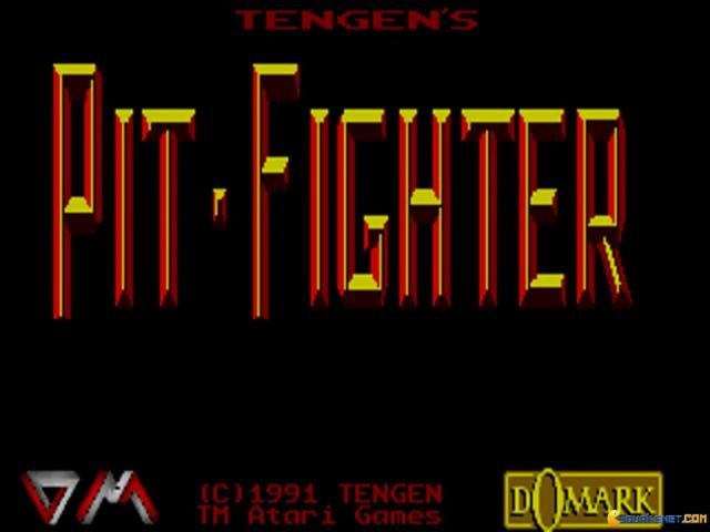 Pit-Fighter - title cover