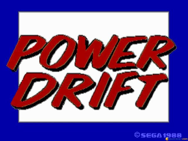 Power Drift - title cover