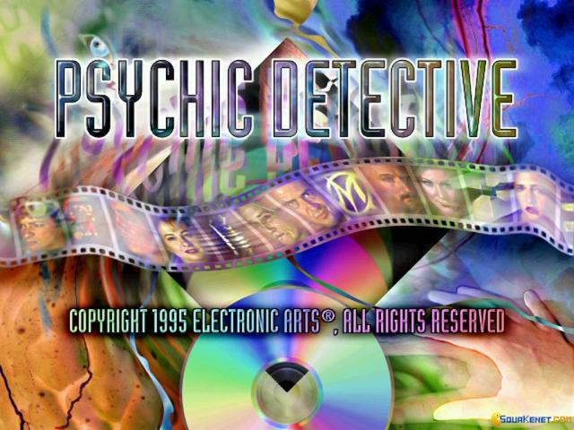 Psychic Detective - game cover