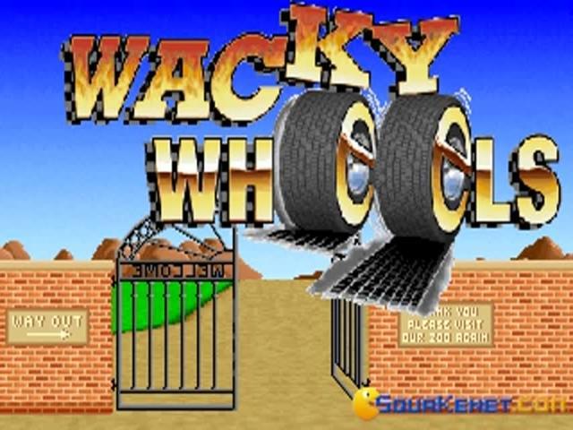 Wacky Wheels - game cover