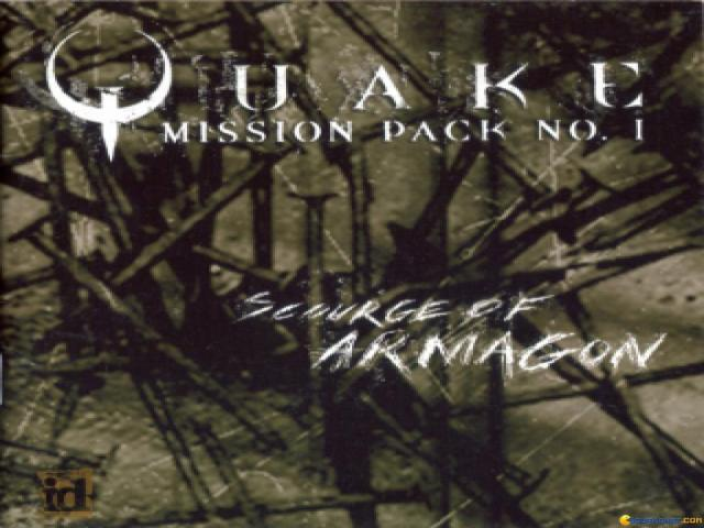 Quake - Mission Pack No 1: Scourge of Armagon - game cover