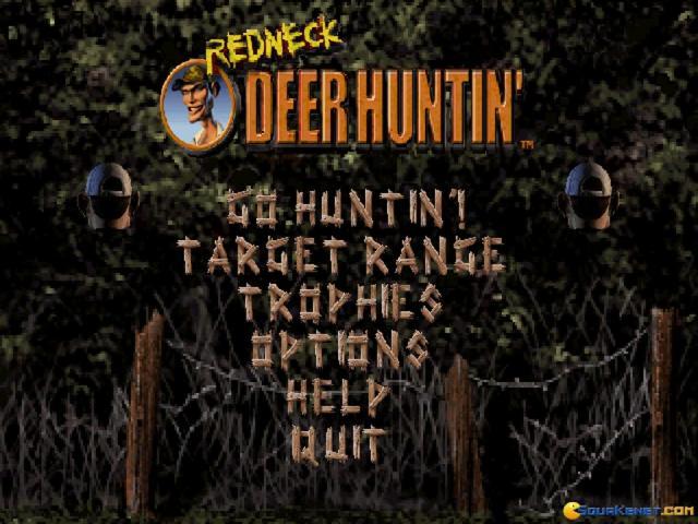 Redneck Deer Huntin' - title cover