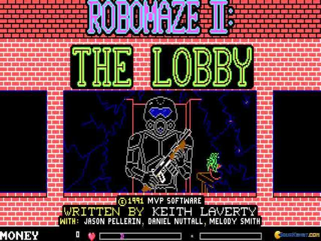 RoboMaze 2: The Lobby - title cover