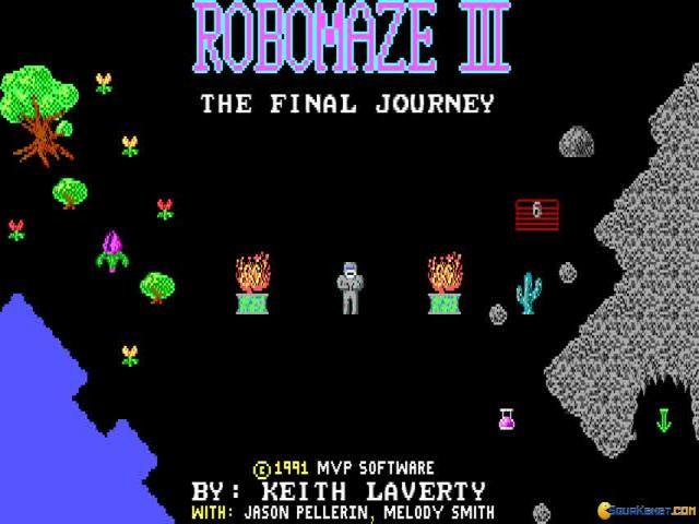 Robomaze 3 - title cover