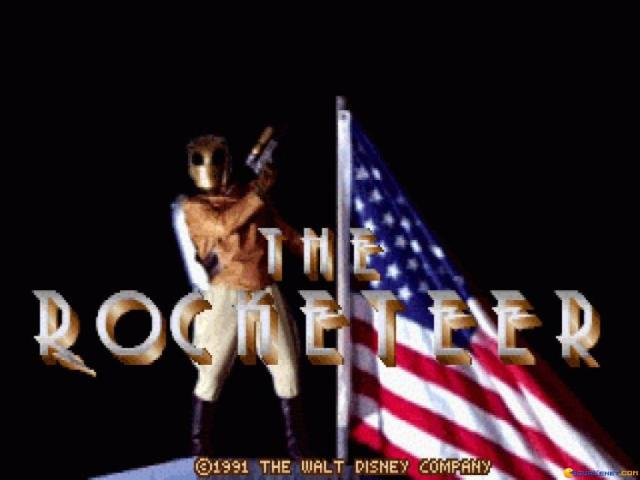 The Rocketeer - title cover