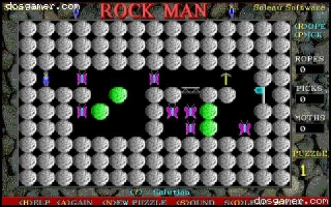 Rock Man - game cover